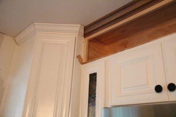 How to make your kitchen cabinets have custom open shelving