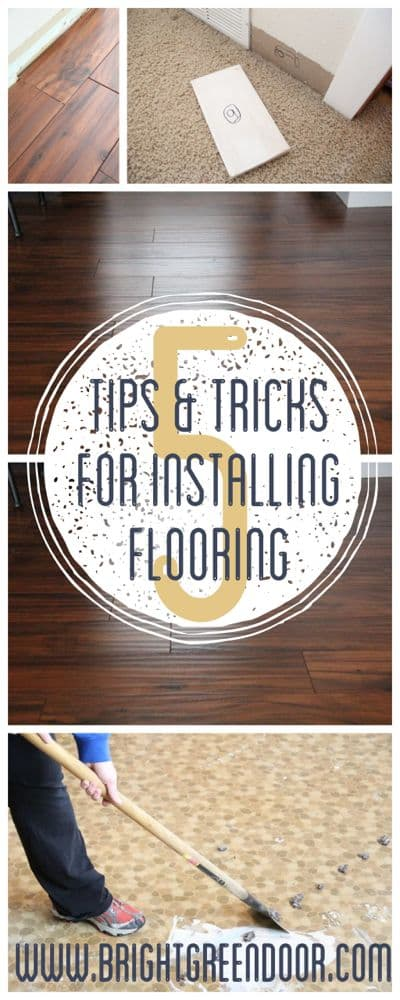 Laminate And Engineered Flooring Installation Tips