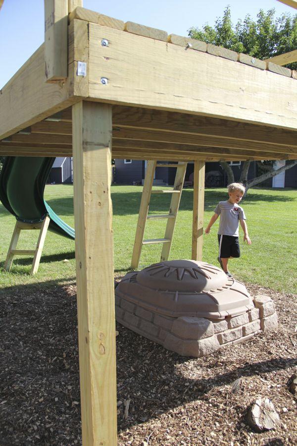 Kids Raised Platform Deck