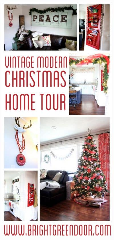 Vintage Modern Christmas Home Tour