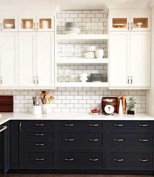 Two Tone Tuxedo Kitchen