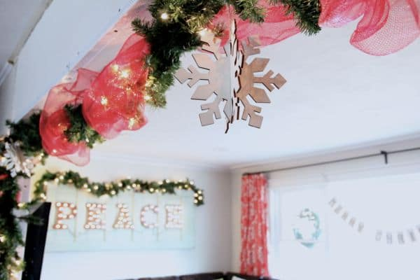 Vintage Modern Christmas Home Tour-25