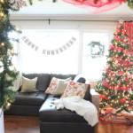 Vintage Modern Christmas Home Tour-26