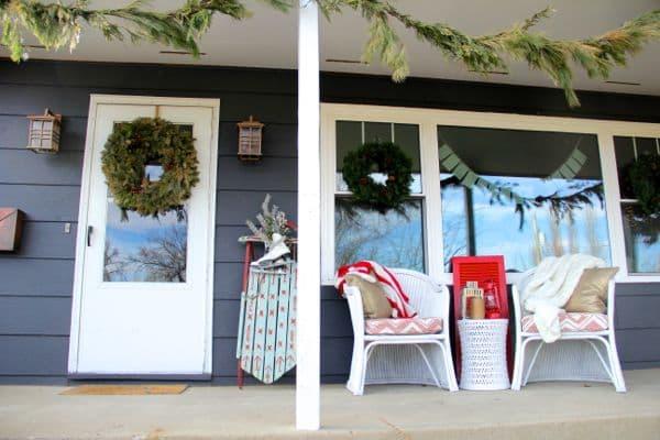 Vintage Modern Christmas Home Tour-33