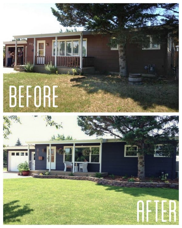 Painted House Before and After