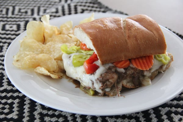 Chicago Italian Beef Crockpot Recipe