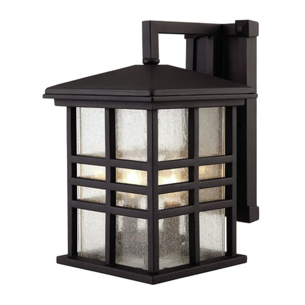 Black Craftsman Lantern Light Fixture