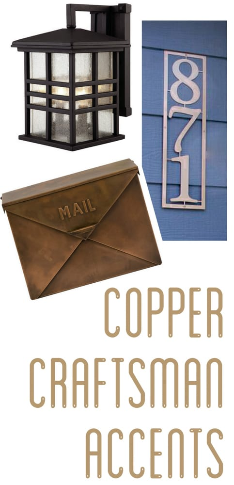 Copper Craftsman Fixtures