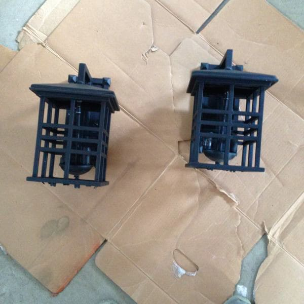 Spray Paint Exterior Lights