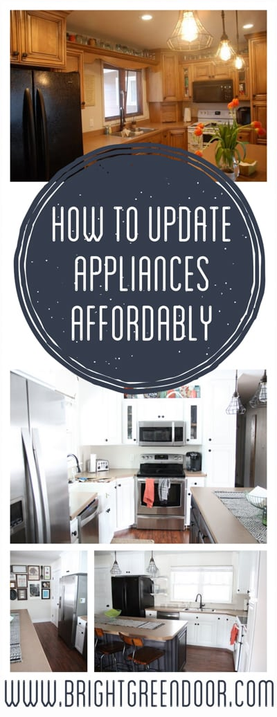 How to Update Appliances Affordably