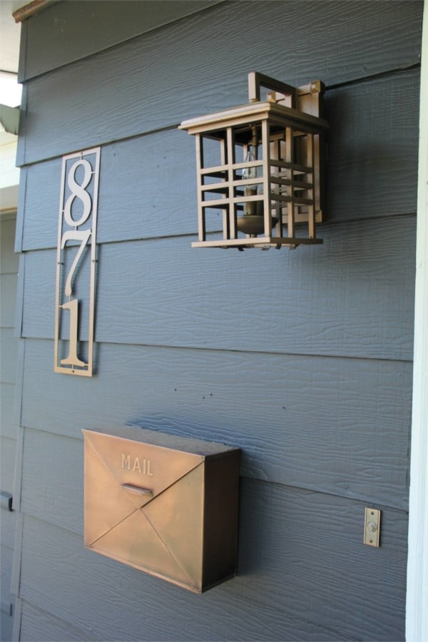 Copper House Exterior Accents