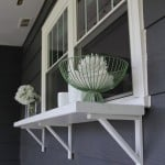window buffet for patio