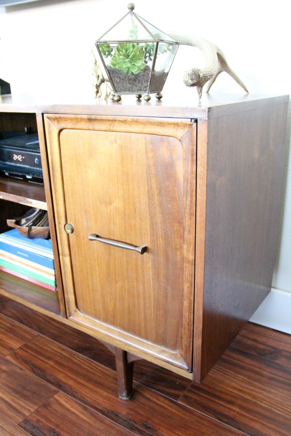 Mid-Century Buffet as Entertainment Center