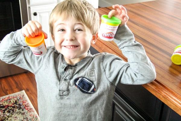 Printable Play-Doh Valentines