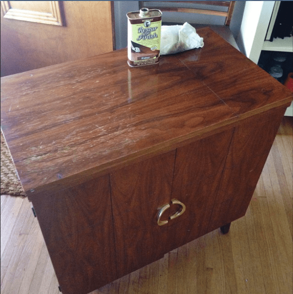 Restor-A-Finish on Mid Century Furniture