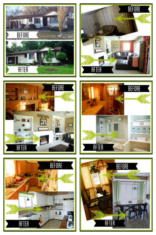 BrightGreenDoor Flip House Before and After Pictures