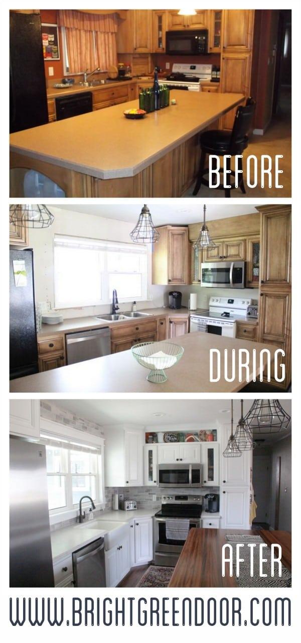 Dated Kitchen with Modern Updates