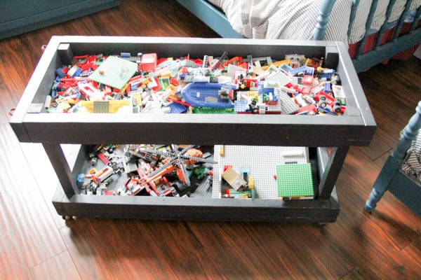 Lego Storage Trays with Wheels