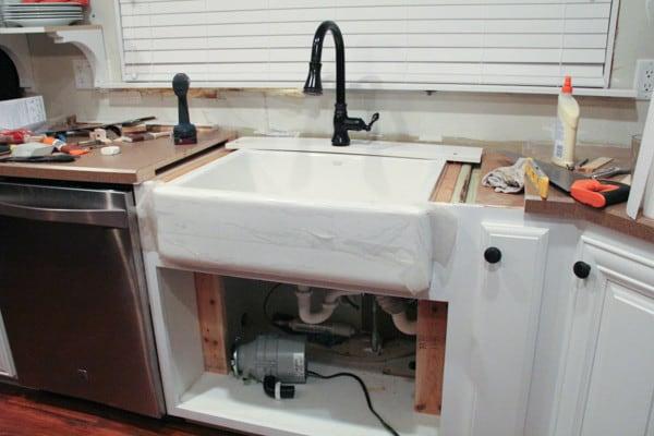 Farmhouse Sink and Backsplash-8