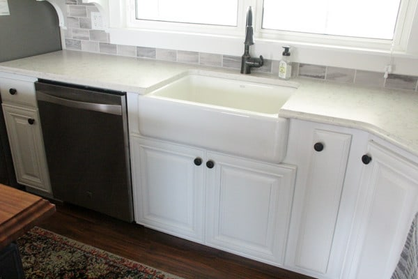 Installing Undermount Farmhouse Sink