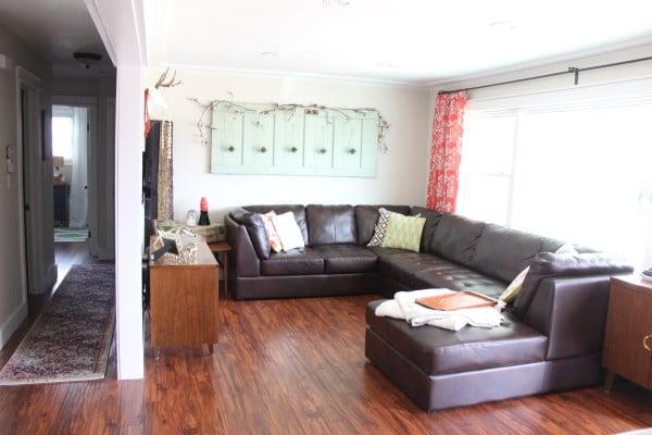BrightGreenDoor Living Room - House Flipping Tips