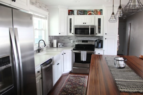 Bright Green Door Kitchen - House Flipping Tips