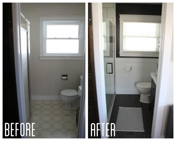 Industrial Modern Bathroom Makeover