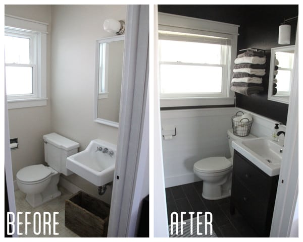 Modern Industrial Bathroom Remodel
