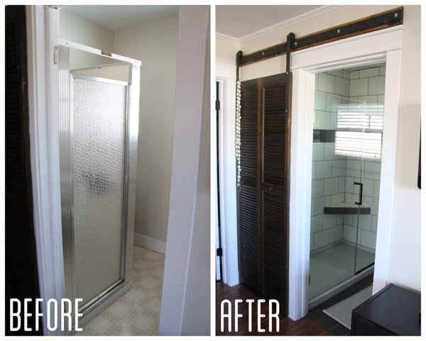 Modern Bathroom Remodel with Tile Shower