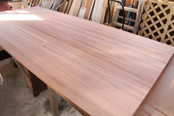 Hardwood Lumber Company Butcher Block Slab