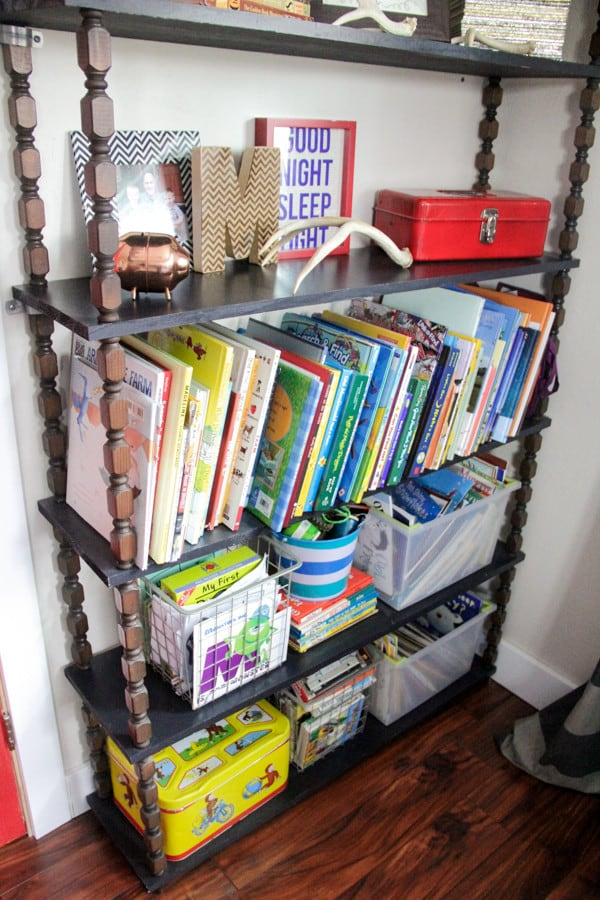 Stylish Modern Kids Shelving