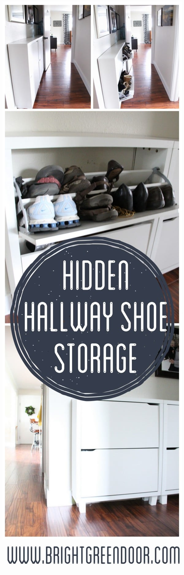 Hallway Shoe Storage Solution