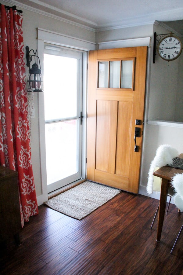 Crafstman door with privacy door
