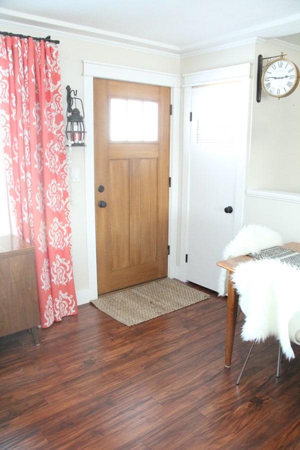 Craftsman Wood Door