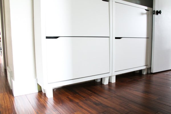 Modern Shoe Cabinet in Hallway