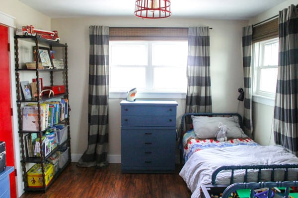 Vintage Modern Boys Room - House Flipping Tips