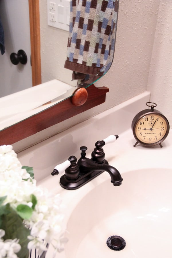 Vintage Oil Rubbed Bronze Faucet