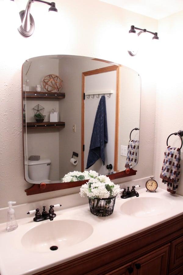 Updating a Basic Builder Bathroom