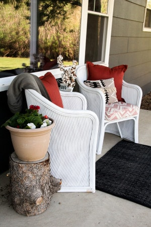 Updated Vintage Bamboo Chairs