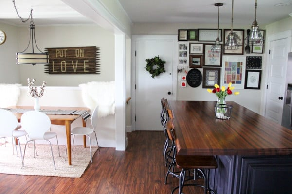Creating a Dining Area