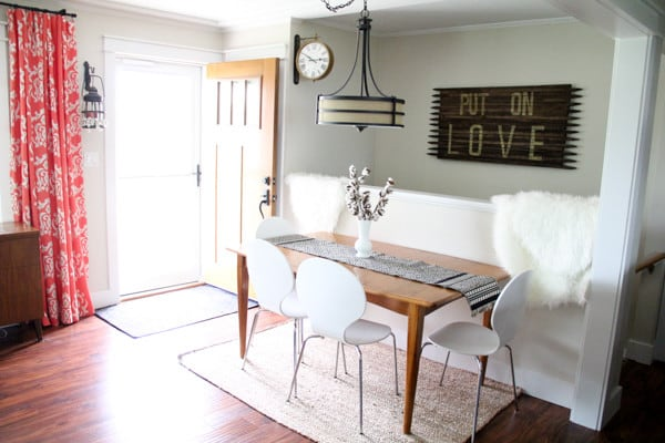 BrightGreenDoor Dining Space - House Flipping Tips