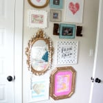Vintage Modern Girl Gallery Wall