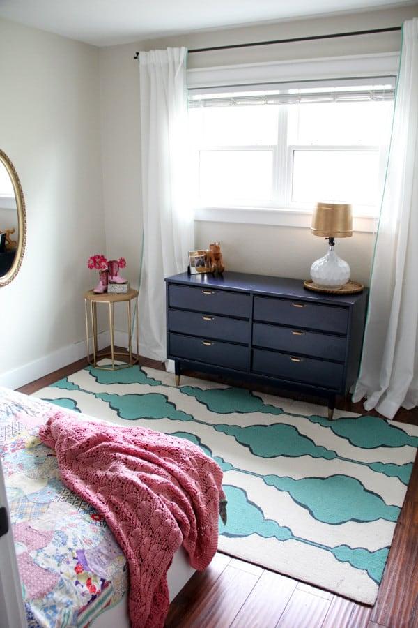 Vintage Modern Girl Room