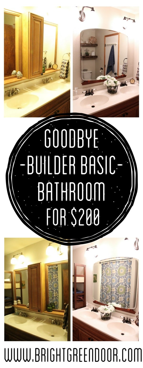 Builder Basic Bathroom Updates