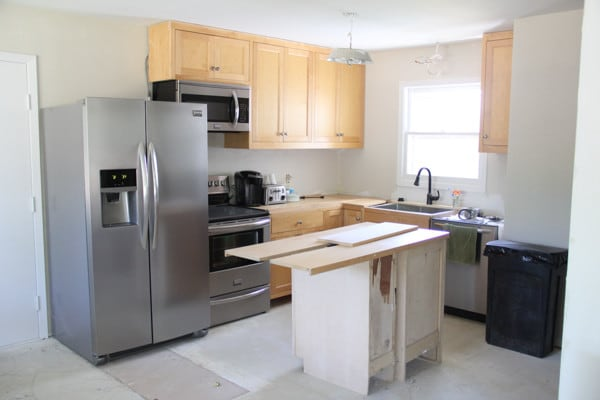 remodel a kitchen on a budget our kitchen reveal