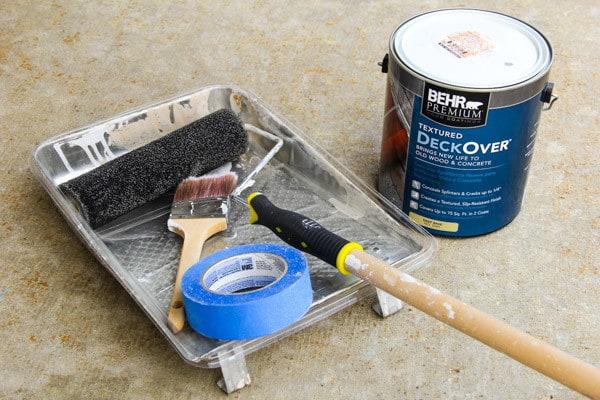 Behr Deckover Concrete Paint