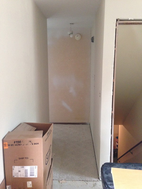 Building a Pantry into a Closet