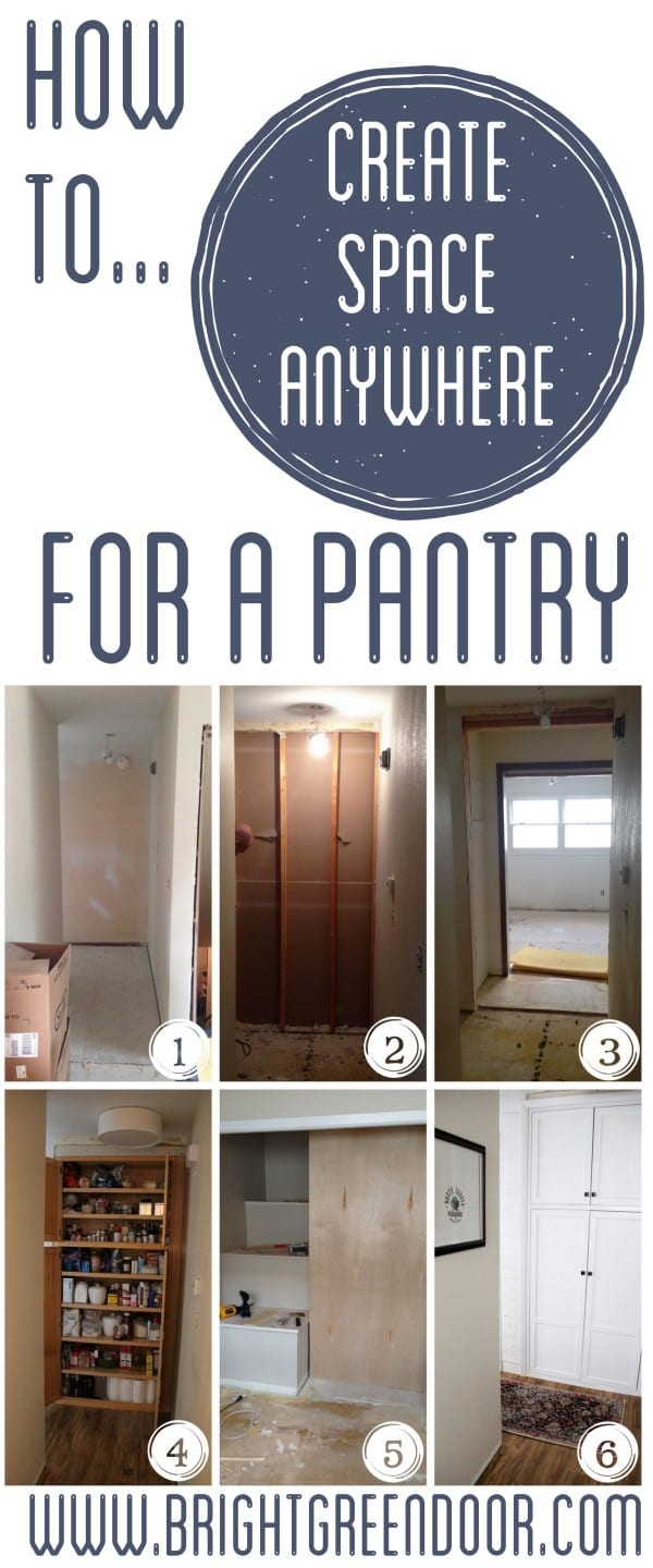 Build a Pantry in a hallway