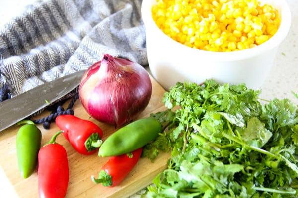 Fresh Garden Corn Salsa