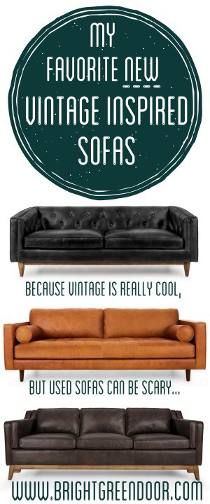Where To Buy New Vintage Inspired Sofas